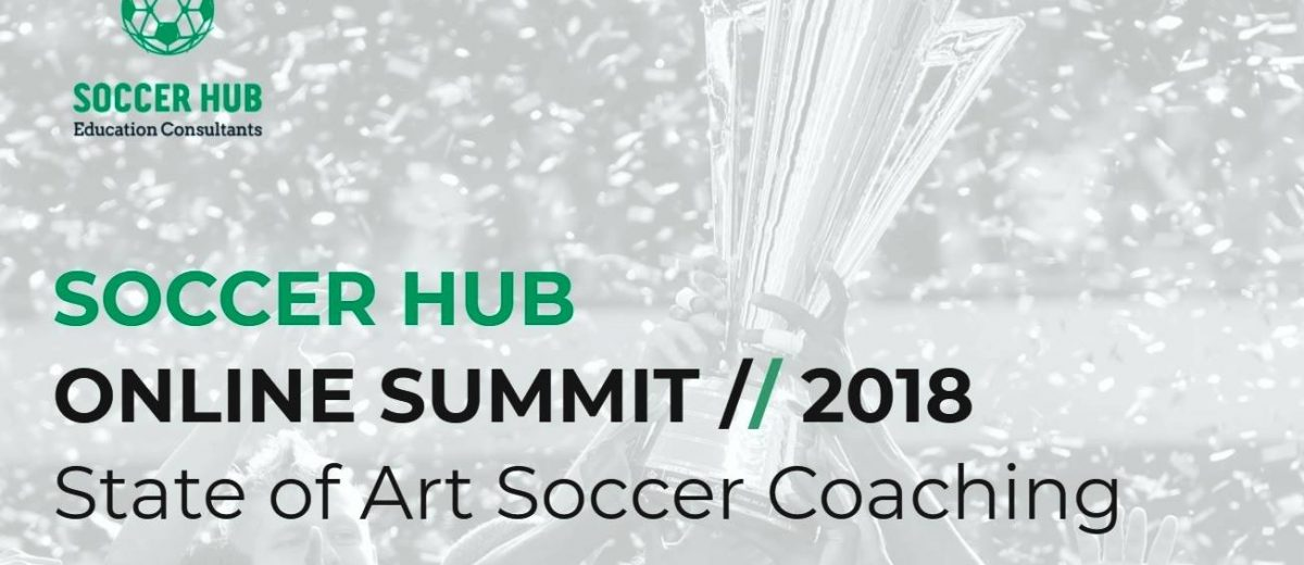 Soccer HUB's online Summit shortens the distances between coaches!